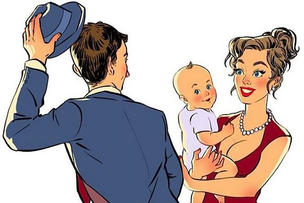 Как женщину с ребенком программируют стать разведенкой